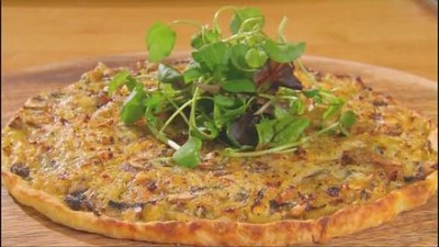 Smoked Mackerel & Rocket Tart